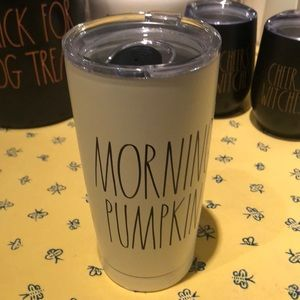 "NWT Rae Dunn ""Morning Pumpkin"" insulated Tumbler"